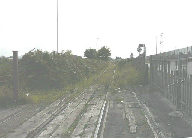 Disused railway line from Sheerness Docks