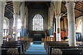 TF1442 : Interior, St john the Baptist church, Great Hale by J.Hannan-Briggs