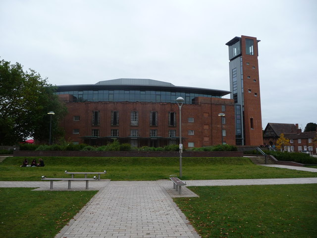 The Royal Shakespeare Theatre from the Bancroft