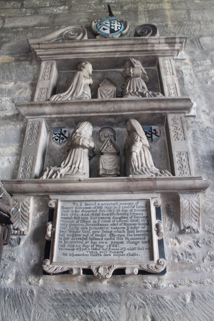 Memorial to Robert Cawdron, Great Hale church