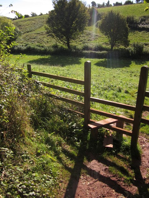 Stile in the Cockington valley