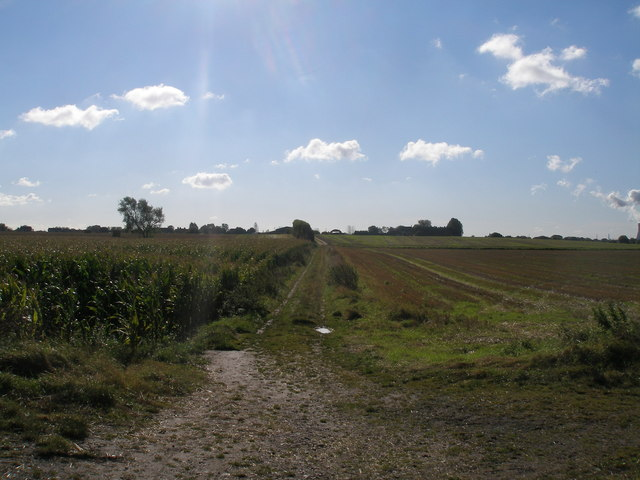 Bridleway south of Burton Hall bridge