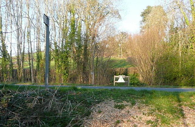 Bridleway near Ty'n-y-caeau