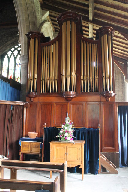 Organ, St John the Baptist church, Great Hale