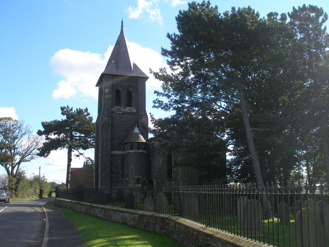 The church at Chapel Haddlesey
