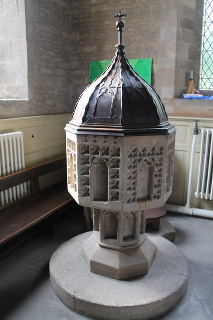 Font, St John the Baptist, Great Hale