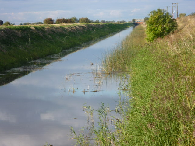 South Forty Foot Drain at Morton Fen