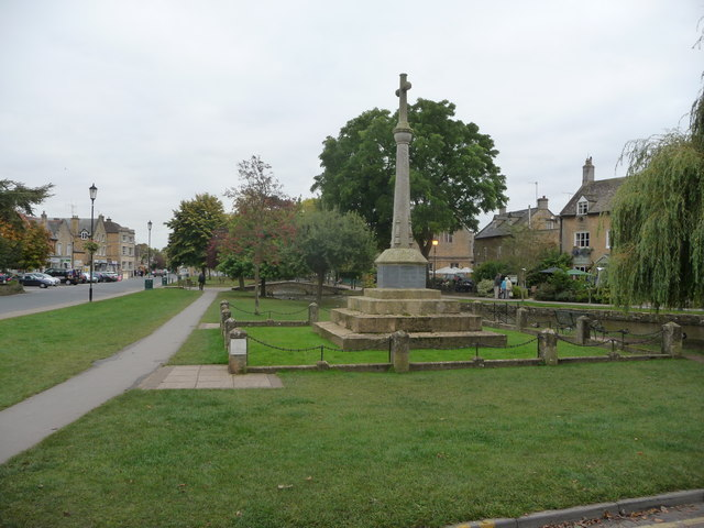 The War Memorial in Bourton-on-the-Water
