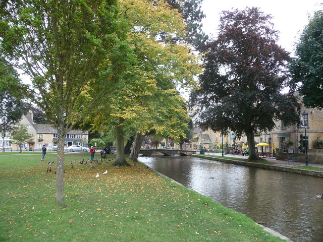 Part of the River Windrush in Bourton-on-the-Water