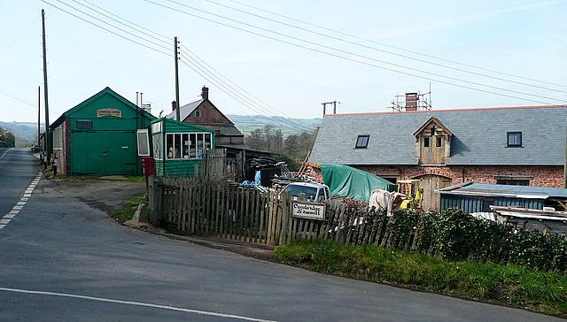Cowbridge garage and sawmill