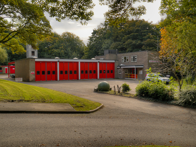 Glossop Fire Station, Whitfield Park