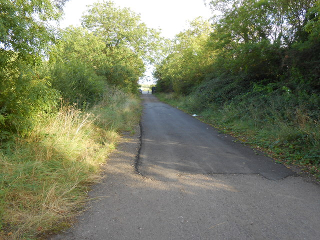 Old Line of the B4100