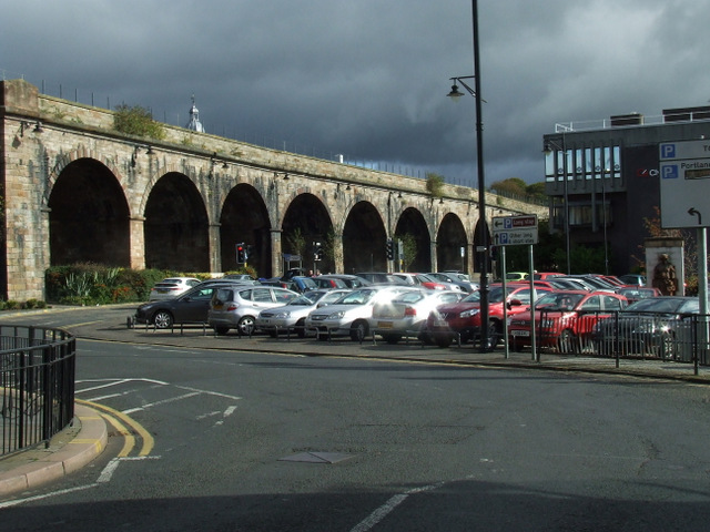 Kilmarnock railway viaduct