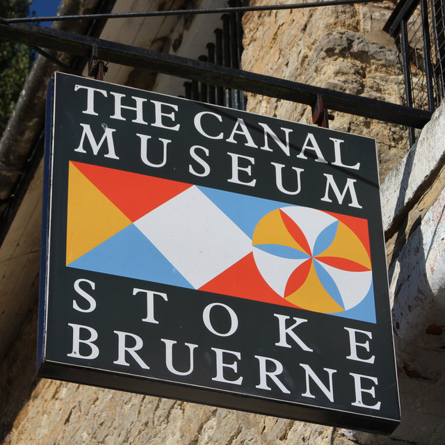 The Canal Museum sign