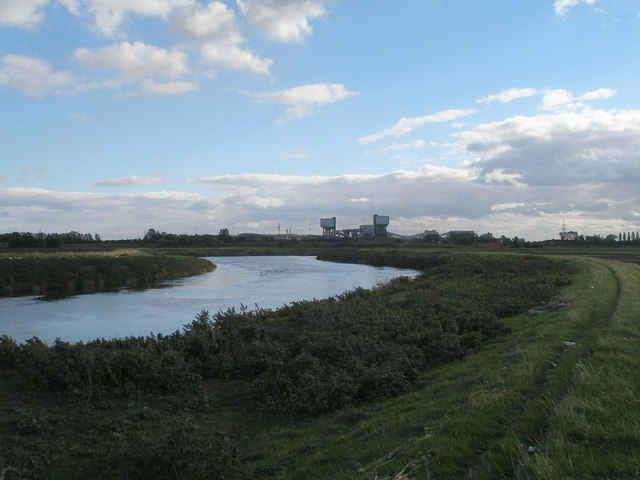 River Aire at Kellingley Crook