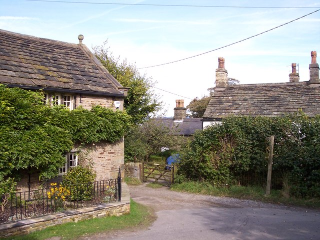 Cottages at Higher Chisworth