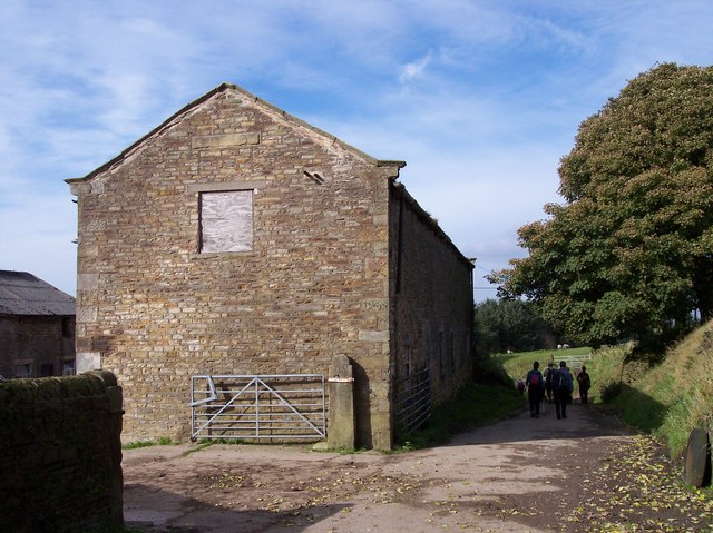 Barn on Ernocroft Lane