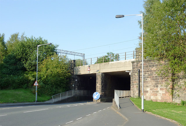Bridge over Gloucester Road near Kidsgrove, Staffordshire
