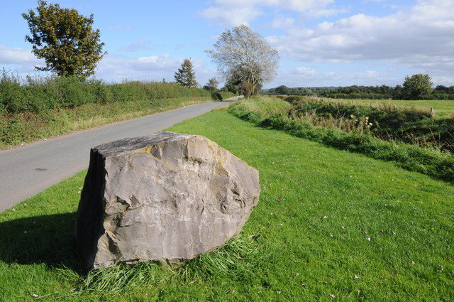 Roadside rock, Oldbury-on-Severn