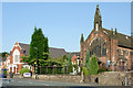 SJ8354 : Churches in Kidsgrove, Staffordshire by Roger  Kidd