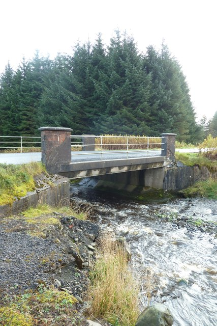 Bridge over Nether Dalgliesh Burn