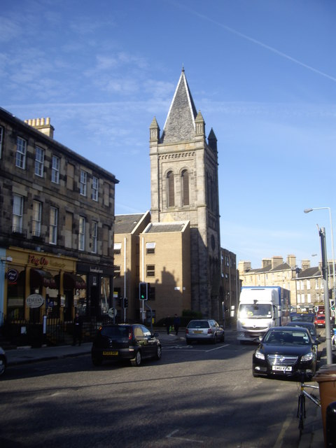 Former Stockbridge Church in Deanhaugh Street