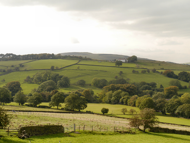 View from Derbyshire Level