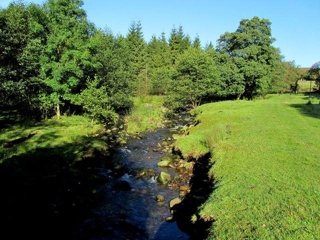 Pendle Way beside Blacko Water