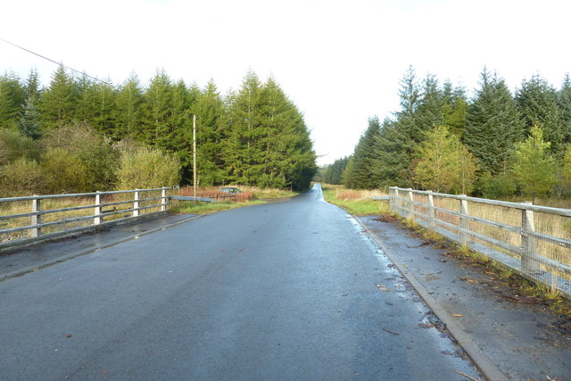B709 from the Over Dalgliesh Bridge