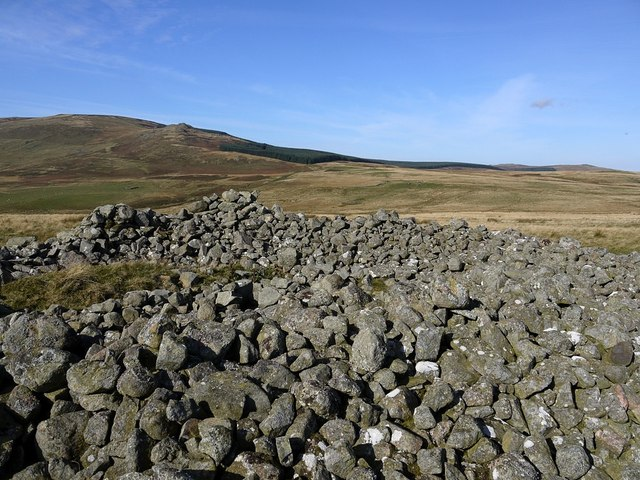 Large cairn on Knock Hill
