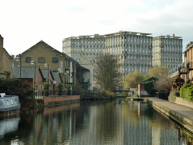 Hertford Union Canal - west end