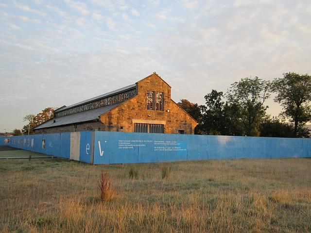 Former industrial building, Forthside