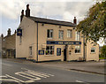 SK0296 : The Anchor, Hadfield Road by David Dixon