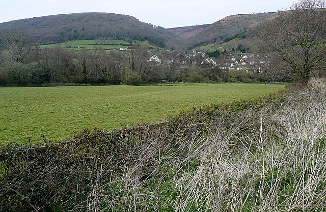 View towards Woodcombe