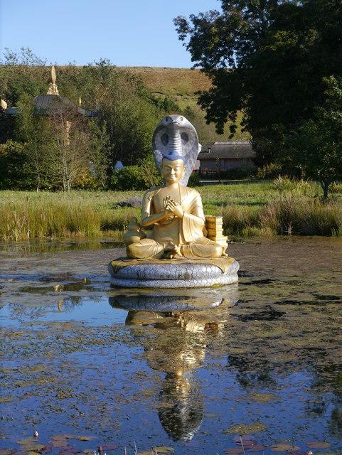 Nagarjuna Statue, Kagyu Samyé Ling Tibetan Centre