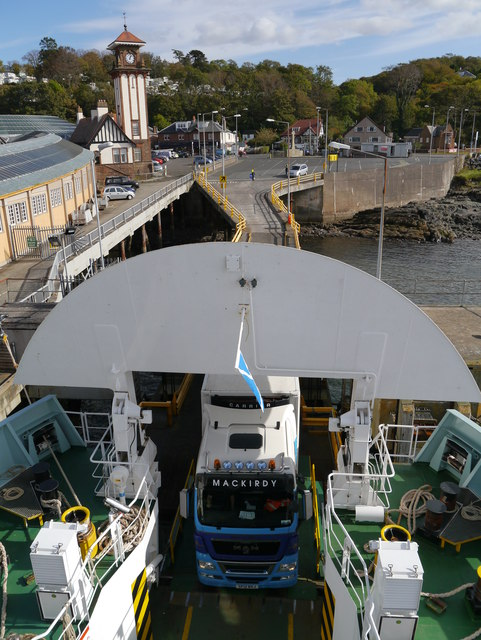 Loading At Wemyss Bay