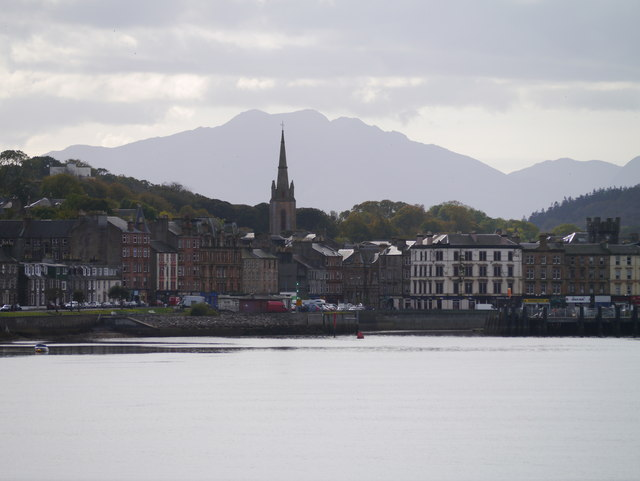 Approaching Rothesay