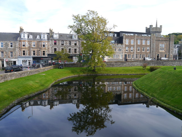 The Moat, Rothesay Castle