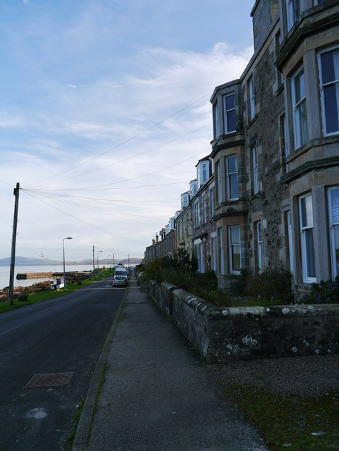 A View Beside The B881 At Kilchattan Bay