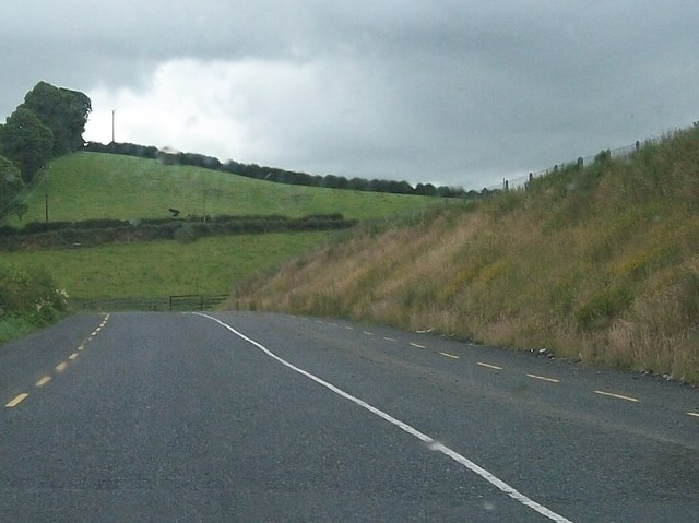 Drumlin at Lisirril viewed from the R181