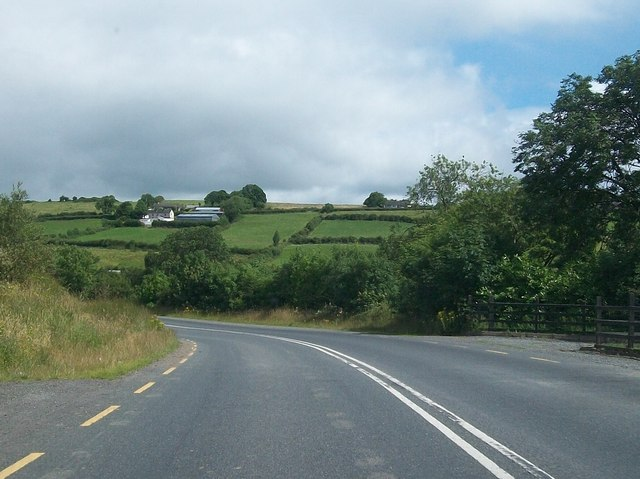 Bend on the R181 at Lattonfasky