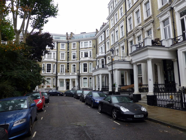 Houses in Lexham Gardens London