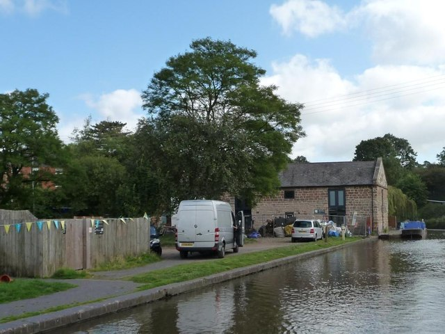 Wharf buildings, Tardebigge