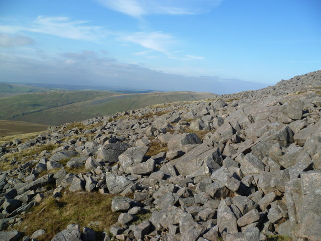 Descending Caw Fell