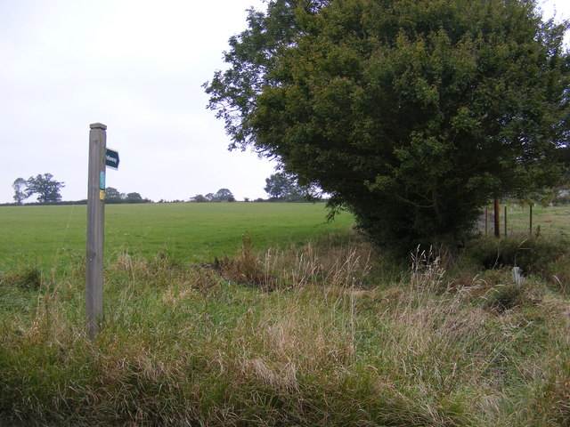 Bridleway to Chediston Green