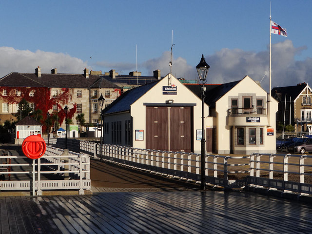 Lifeboat station,Beaumaris