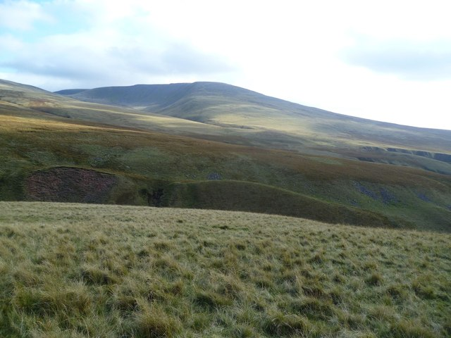 Looking towards Caw Fell
