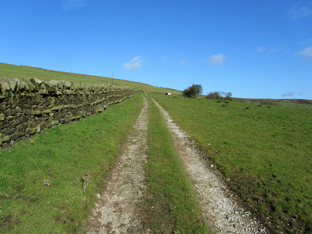 Track leading to Jackson's House