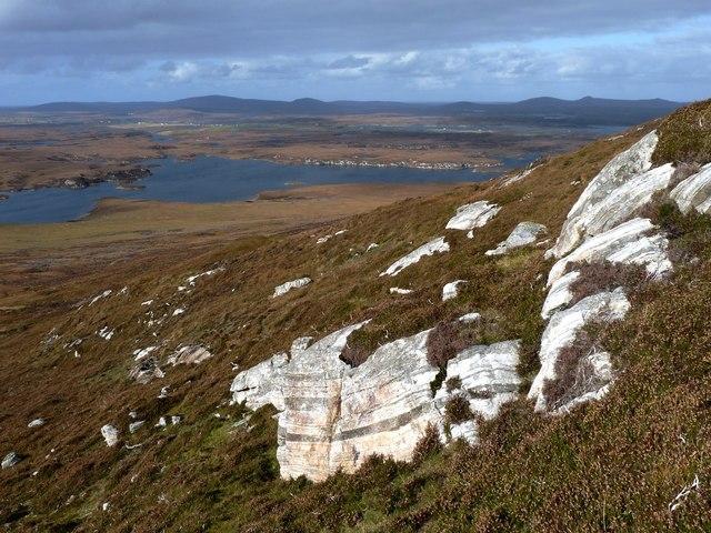 Southwest flank of Eabhal
