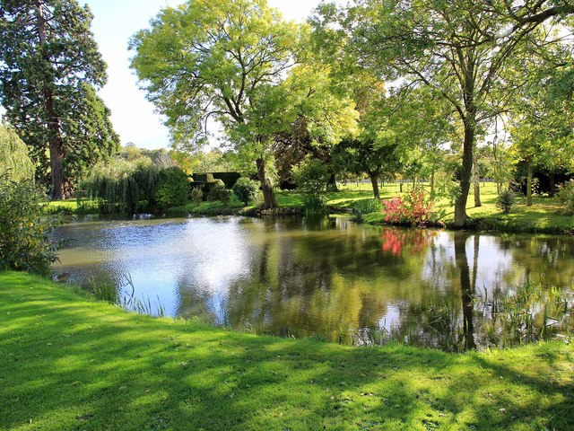 Pond on Lower Clopton Farm